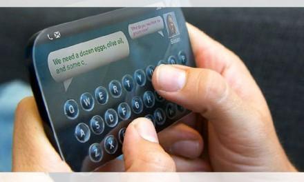 ¿Botones físicos en dispositivos táctiles? Posible en un futuro cercano