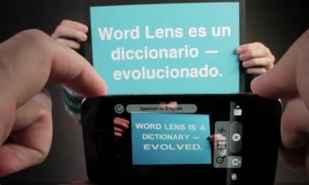 Word Lens, la app que traduce texto en tiempo real