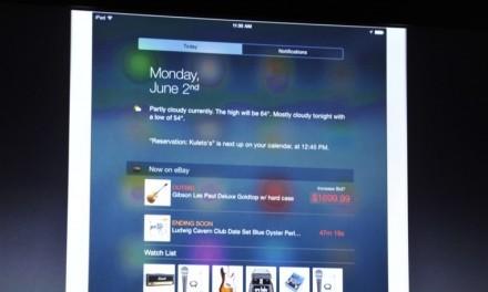 Widgets en el centro de notificaciones de iOS 8